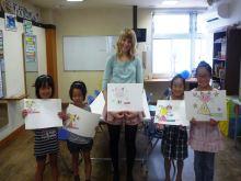 $奈良の英会話スクールでレッスンや子供の英語教室なら HAYA English Academy (ハヤ イングリッシュ アカデミー)のブログ-英語でおえかきできたよ!
