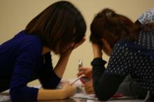 $奈良の英会話スクールでレッスンや子供の英語教室なら HAYA English Academy (ハヤ イングリッシュ アカデミー)のブログ-なんかの作戦会議中…