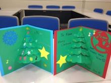 $奈良の英会話スクールでレッスンや子供の英語教室なら HAYA English Academy (ハヤ イングリッシュ アカデミー)のブログ-クリスマスカードできたよ!