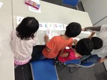 $奈良の英会話スクールでレッスンや子供の英語教室なら HAYA English Academy (ハヤ イングリッシュ アカデミー)のブログ-アルファベットを順番に並べよう!