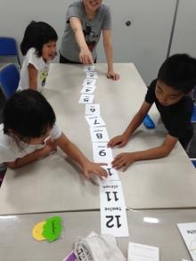 $王寺・柏原の英会話教室 レッスン 子供の英語教室なら HAYA English Academy (ハヤ イングリッシュ アカデミー)のブログ-ナンバーゲーム