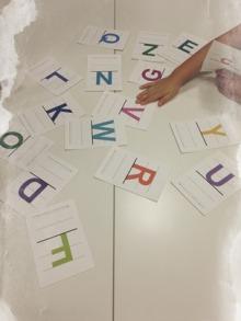 $王寺・柏原の英会話教室 レッスン 子供の英語教室なら HAYA English Academy (ハヤ イングリッシュ アカデミー)のブログ-フォニックス・かるたゲーム