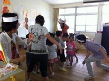 王寺・柏原の英会話教室 レッスン 子供の英語教室なら HAYA English Academy (ハヤ イングリッシュ アカデミー)のブログ-4才 walk!
